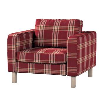 Karlstad armchair cover Karlstad armchair cover in collection Edinburgh, fabric: 115-73