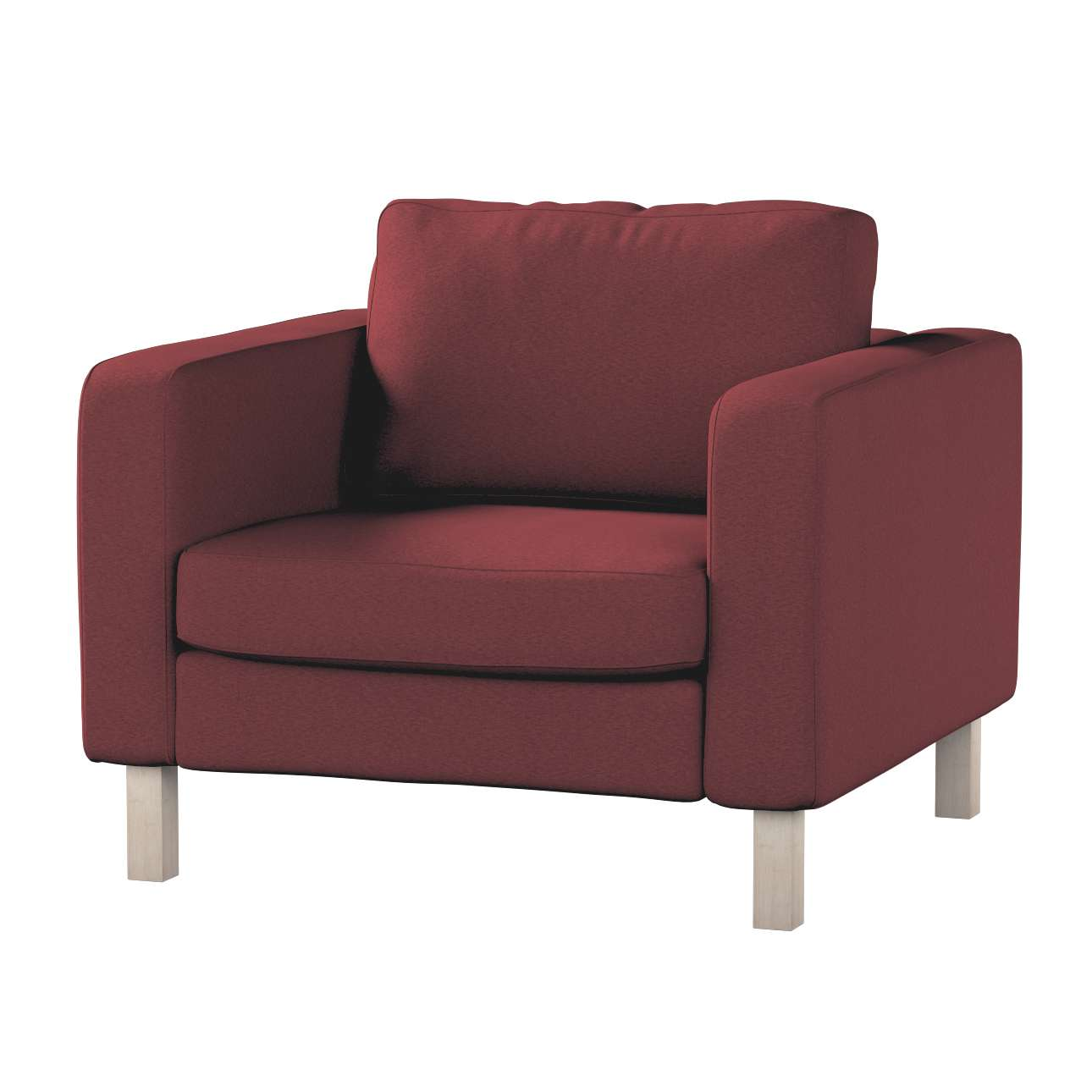 Karlstad armchair cover Karlstad armchair cover in collection Living, fabric: 100-99