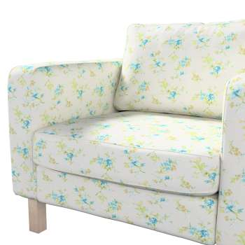 Karlstad armchair cover in collection Mirella, fabric: 141-16