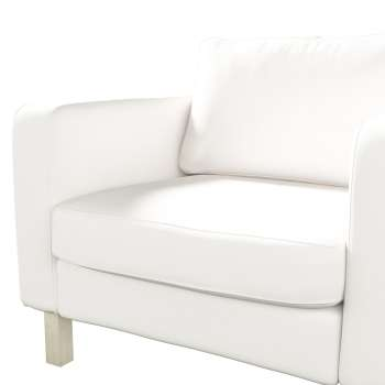 Karlstad armchair cover in collection Panama Cotton, fabric: 702-34