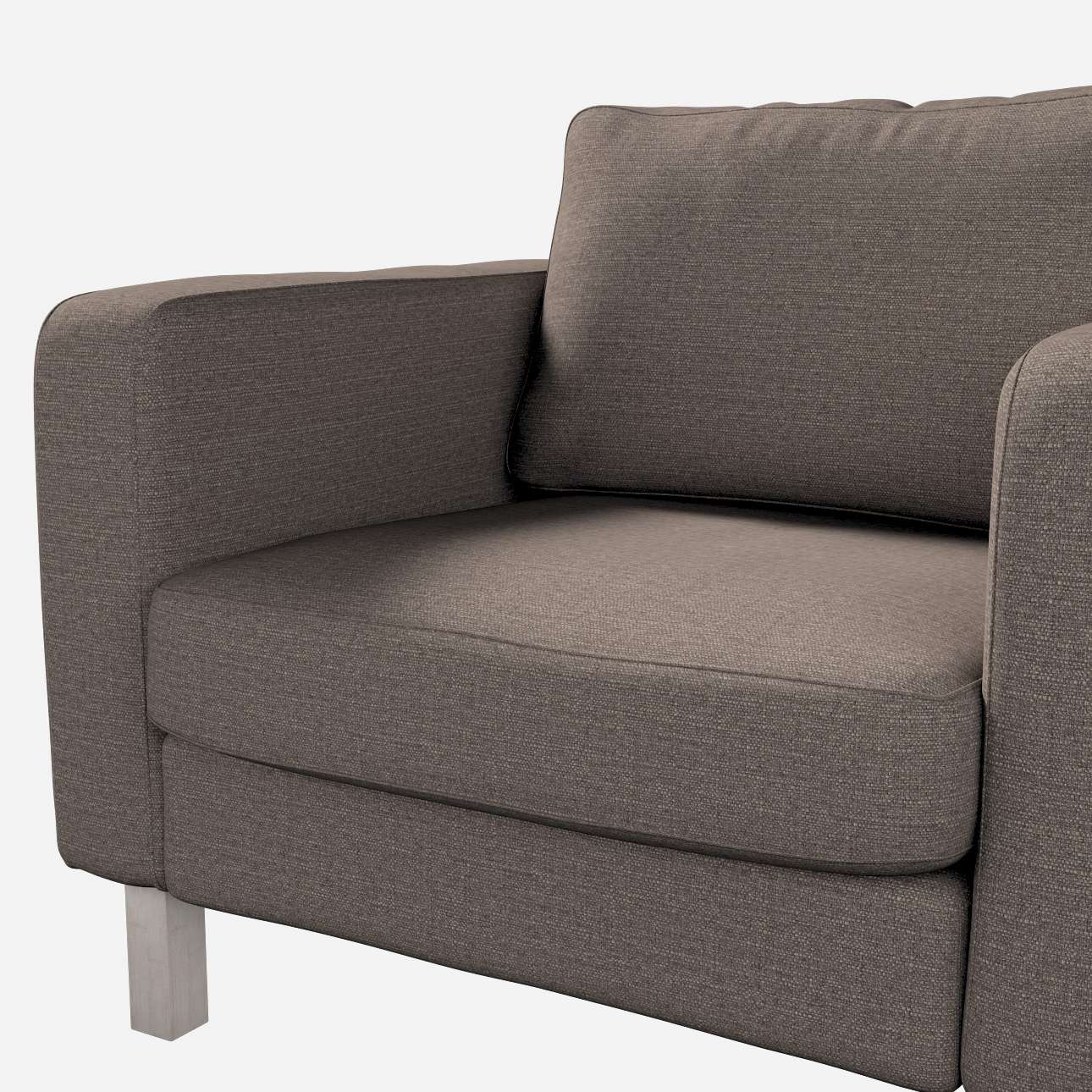 Karlstad armchair cover in collection Granada, fabric: 104-93