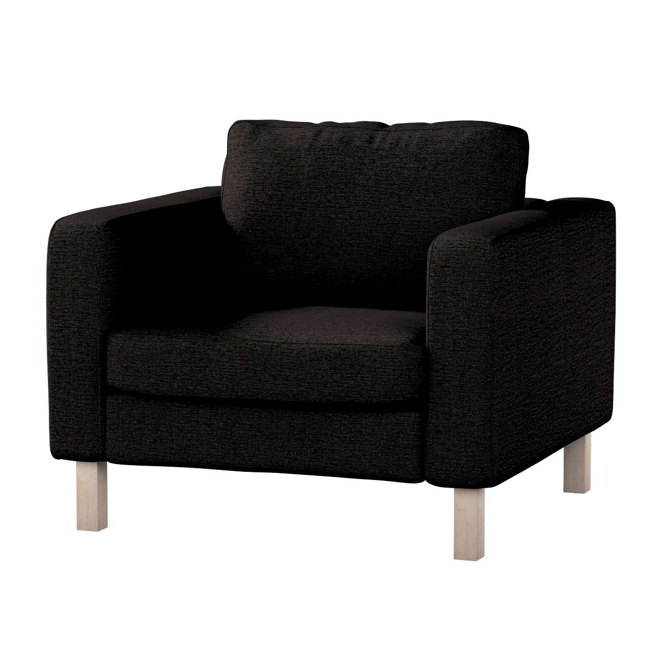 Karlstad armchair cover Karlstad armchair cover in collection Madrid, fabric: 105-17