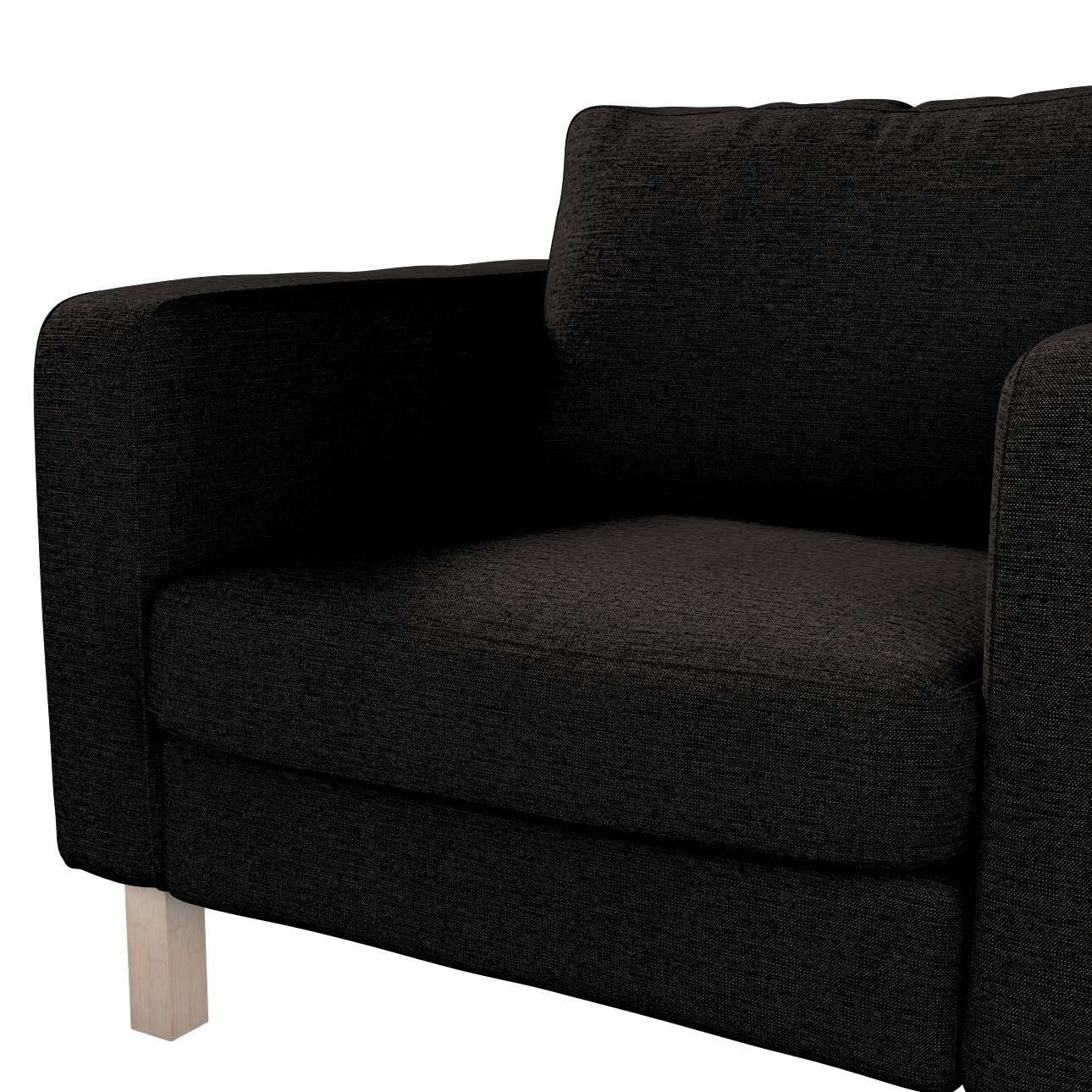 Karlstad armchair cover in collection Madrid, fabric: 105-17