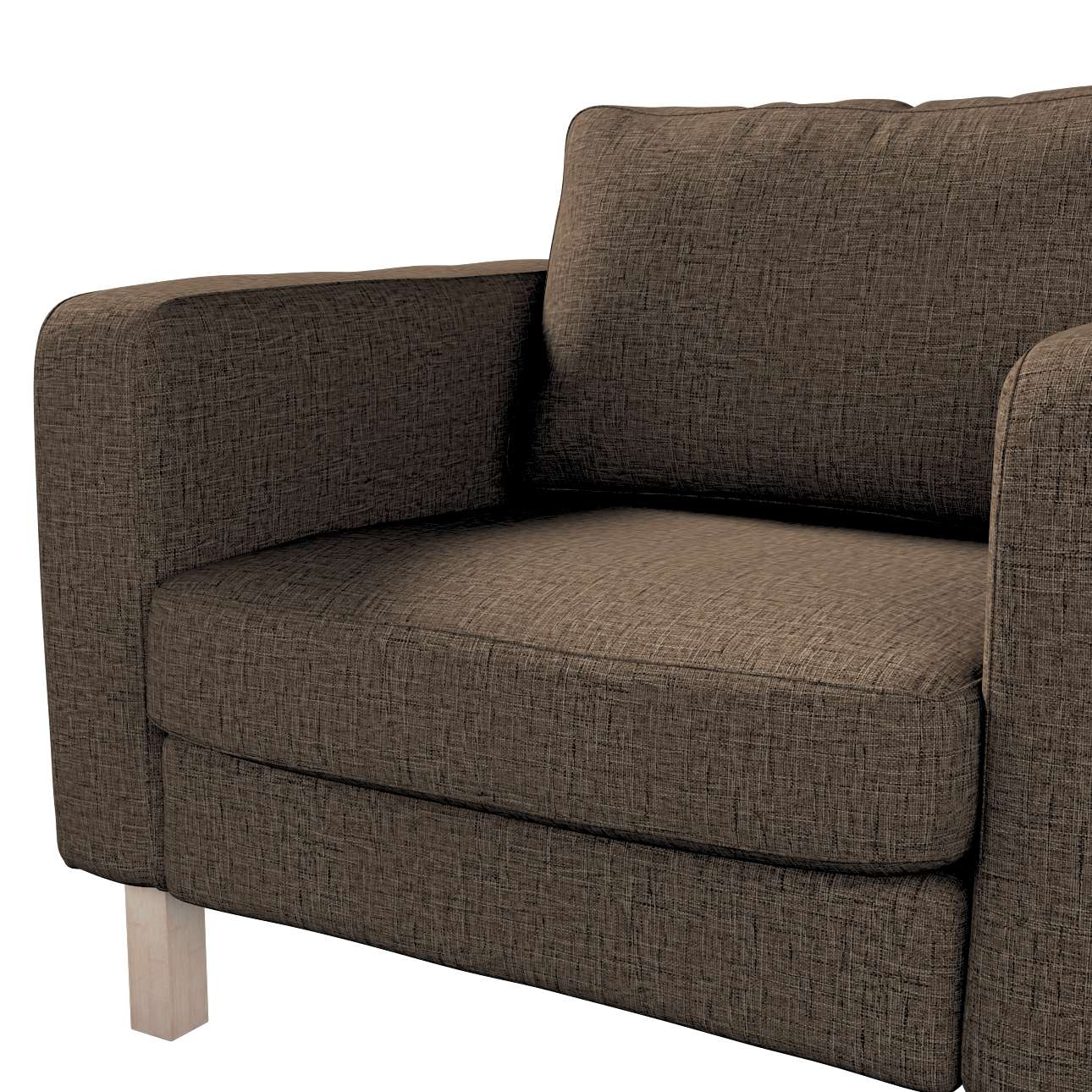 Karlstad armchair cover in collection Living, fabric: 106-92