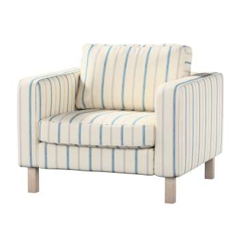 Karlstad armchair cover in collection Avinon, fabric: 129-66