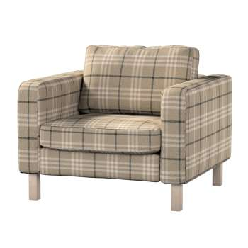 Karlstad armchair cover Karlstad armchair cover in collection Edinburgh, fabric: 703-11