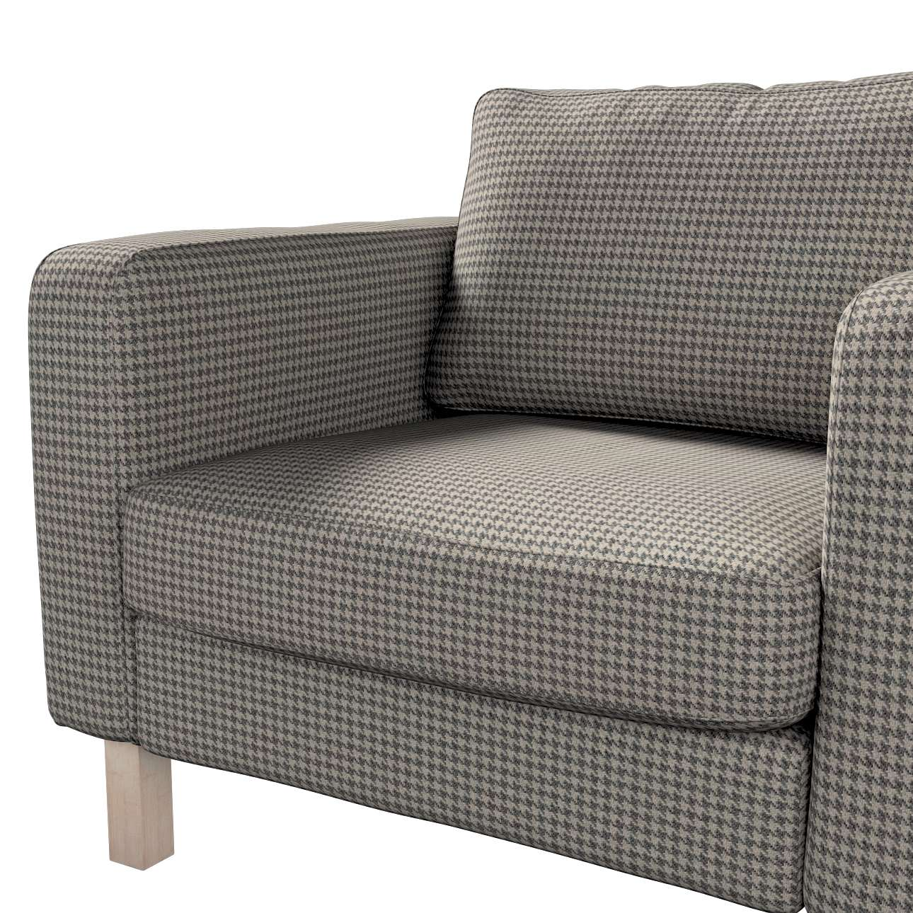 Karlstad armchair cover in collection Edinburgh, fabric: 703-14