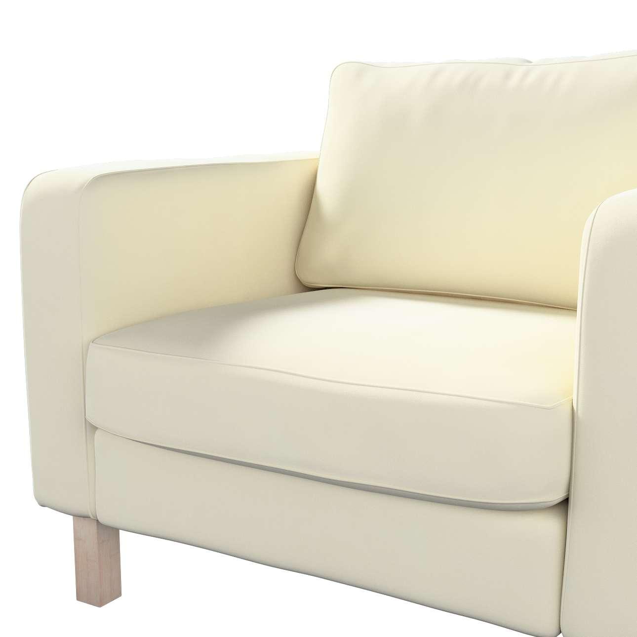 Karlstad päällinen nojatuoli mallistosta Velvet, Kangas: 704-10