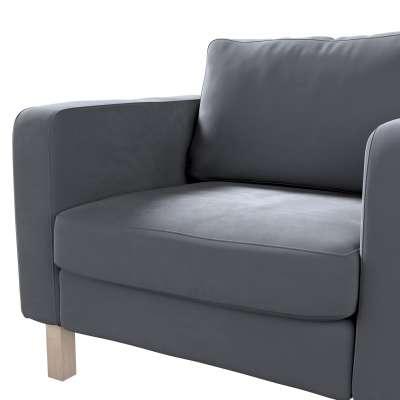 Karlstad päällinen nojatuoli mallistosta Velvet, Kangas: 704-12