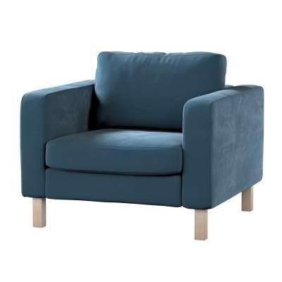 Karlstad päällinen nojatuoli mallistosta Velvet, Kangas: 704-16