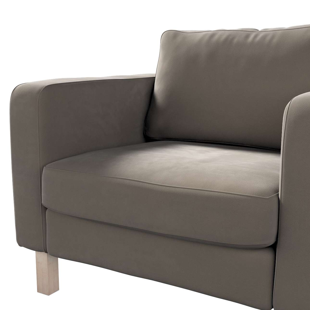 Karlstad päällinen nojatuoli mallistosta Velvet, Kangas: 704-19