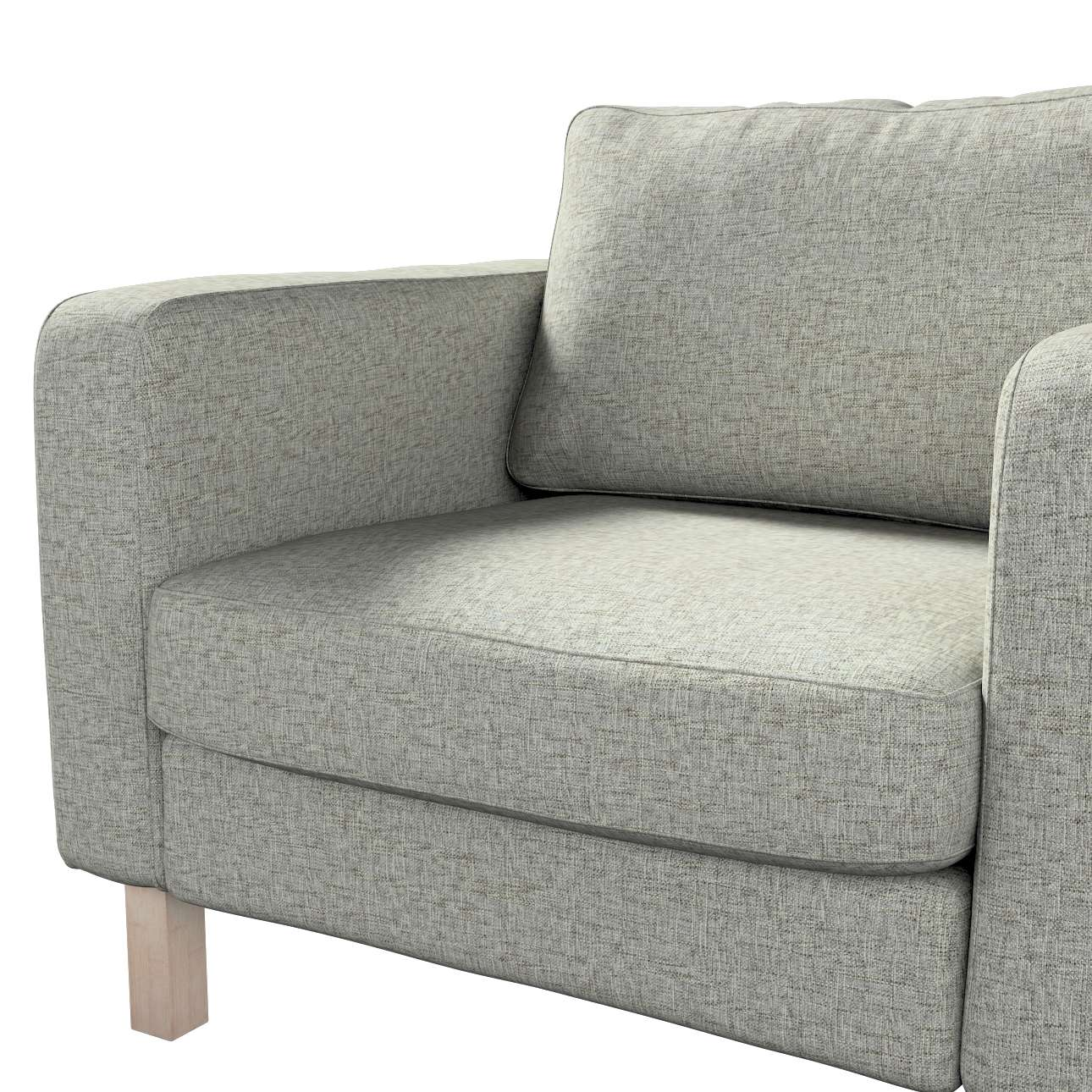 Karlstad armchair cover in collection Living, fabric: 106-96
