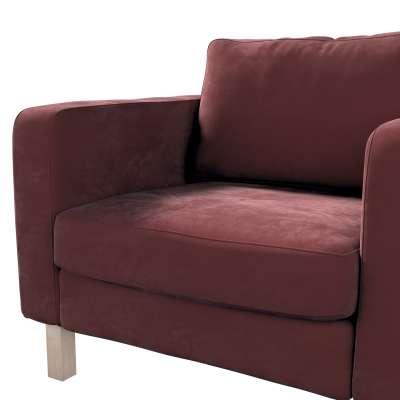 Karlstad päällinen nojatuoli mallistosta Velvet, Kangas: 704-26