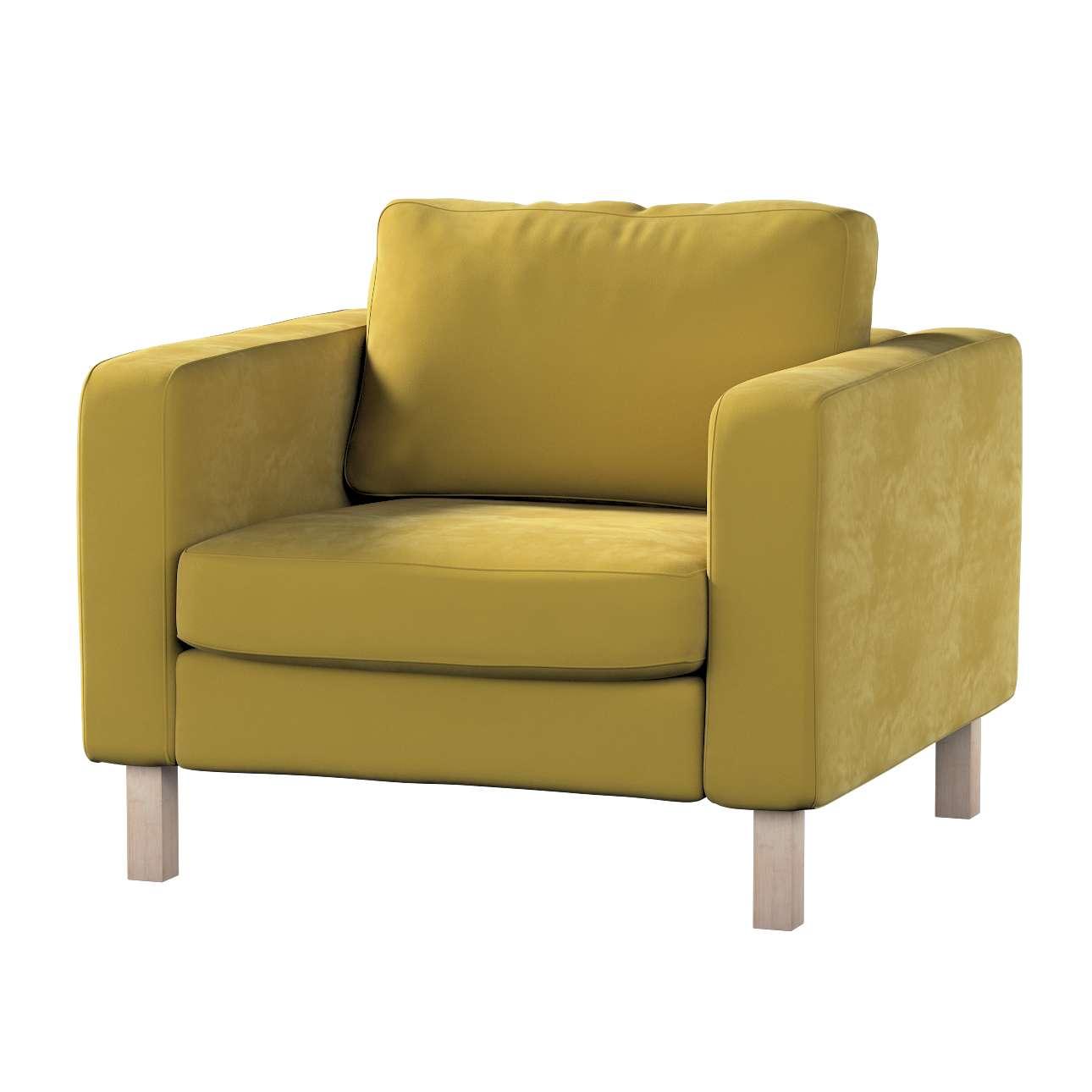 Karlstad päällinen nojatuoli mallistosta Velvet, Kangas: 704-27