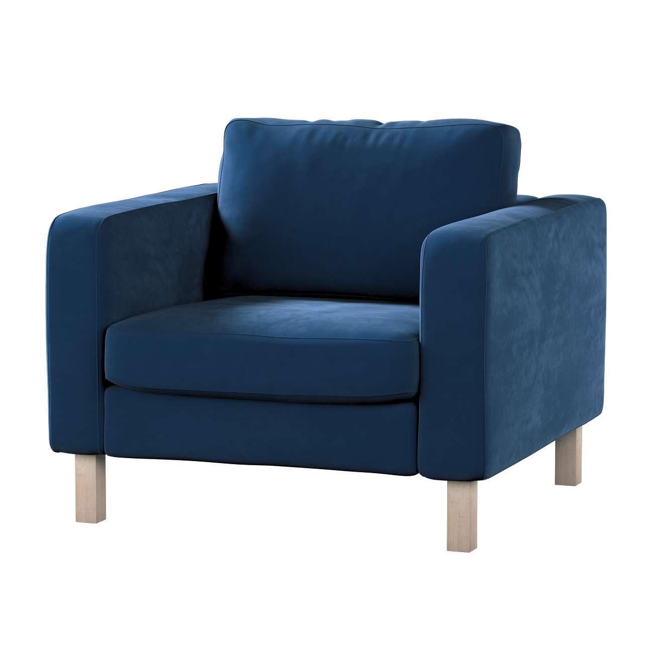 Karlstad päällinen nojatuoli mallistosta Velvet, Kangas: 704-29