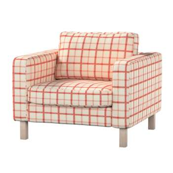 Karlstad armchair cover in collection Avinon, fabric: 131-15