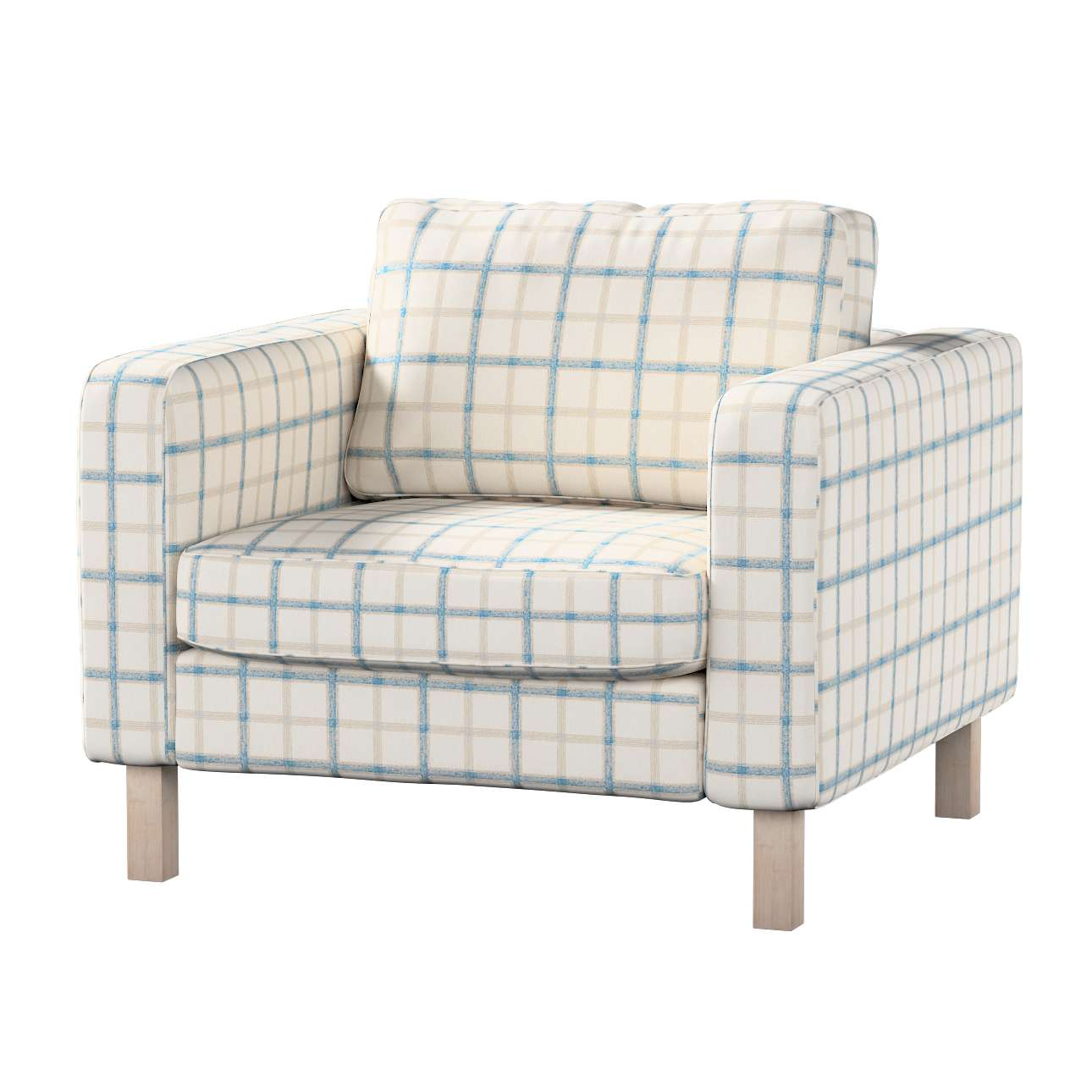 Karlstad armchair cover Karlstad armchair cover in collection Avinon, fabric: 131-66