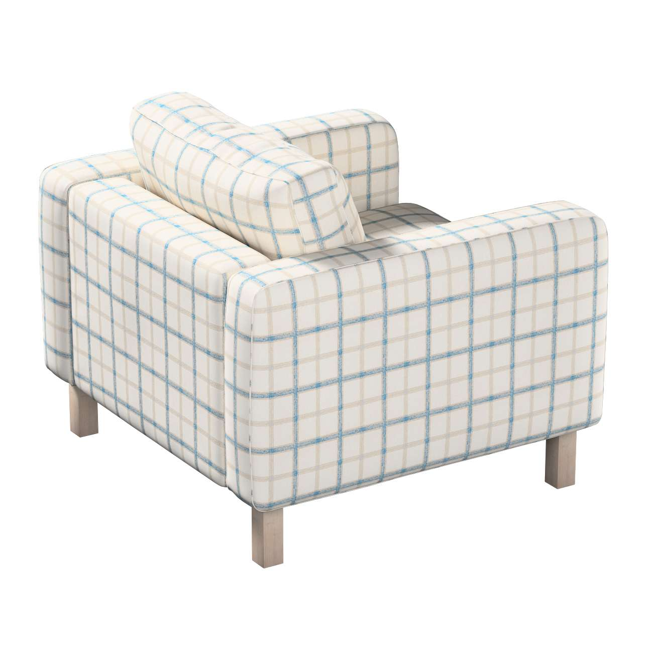 Karlstad armchair cover in collection Avinon, fabric: 131-66