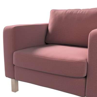 Pokrowiec na fotel Karlstad, krótki w kolekcji Ingrid, tkanina: 705-38