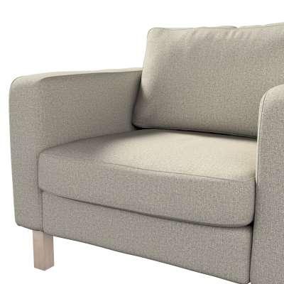 Pokrowiec na fotel Karlstad, krótki w kolekcji Madrid, tkanina: 161-23