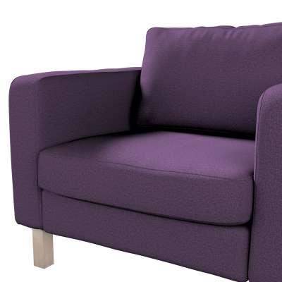 Pokrowiec na fotel Karlstad, krótki w kolekcji Etna, tkanina: 161-27