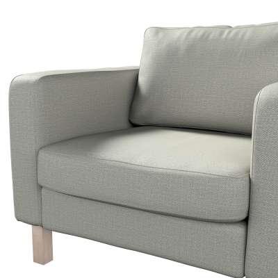 Pokrowiec na fotel Karlstad, krótki w kolekcji Bergen, tkanina: 161-83