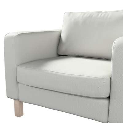 Pokrowiec na fotel Karlstad, krótki w kolekcji Bergen, tkanina: 161-84
