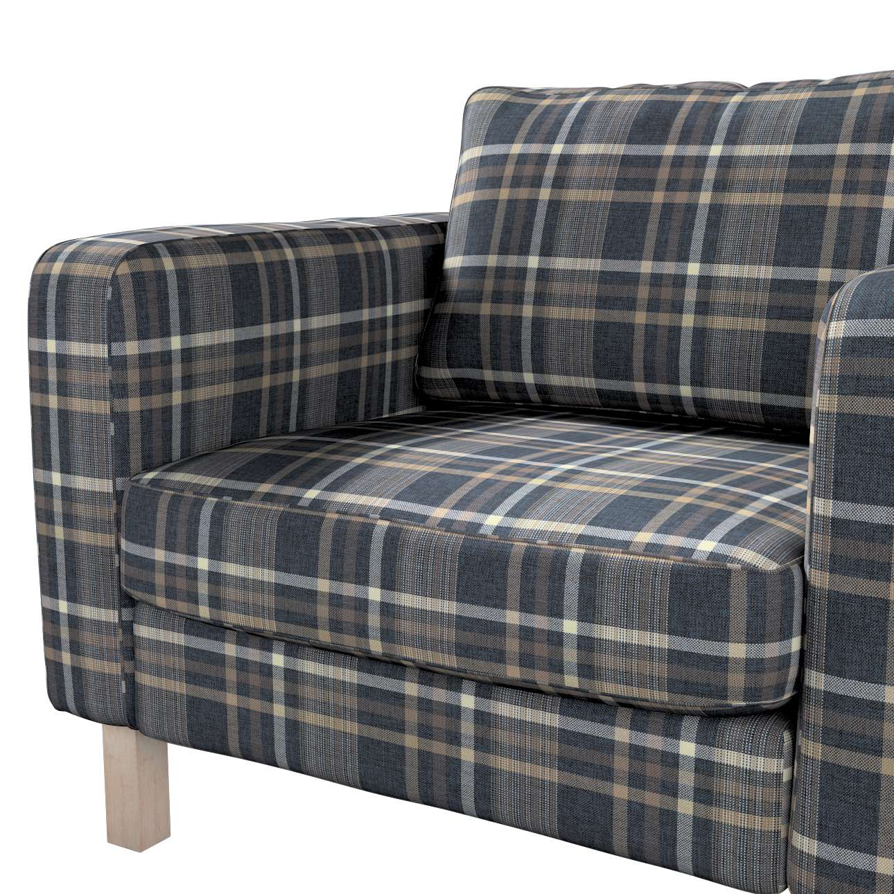 Karlstad päällinen nojatuoli mallistosta Edinburgh, Kangas: 703-16