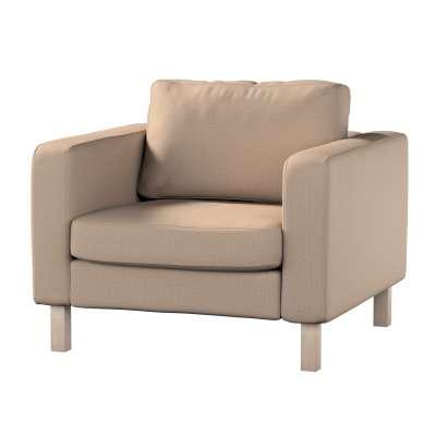 Pokrowiec na fotel Karlstad, krótki w kolekcji Bergen, tkanina: 161-75