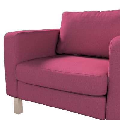 Pokrowiec na fotel Karlstad, krótki w kolekcji Living, tkanina: 160-44