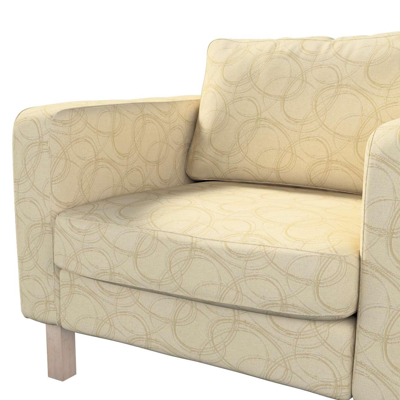 Karlstad päällinen nojatuoli mallistosta Living, Kangas: 161-81
