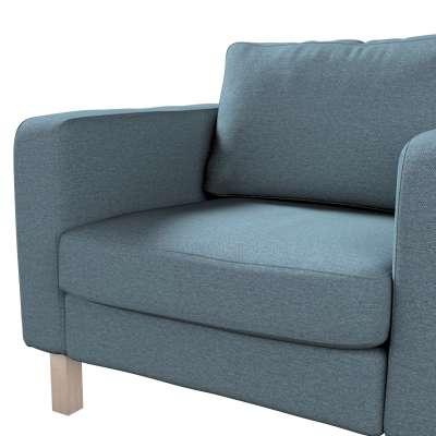 Pokrowiec na fotel Karlstad, krótki w kolekcji Madrid, tkanina: 161-90