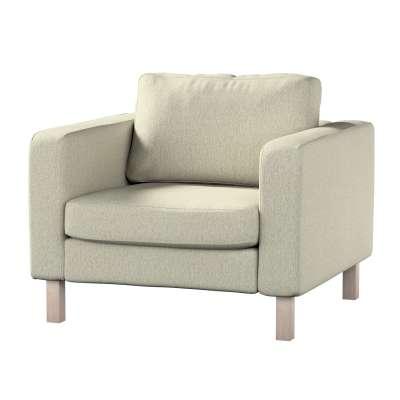 Pokrowiec na fotel Karlstad, krótki w kolekcji Living, tkanina: 161-62