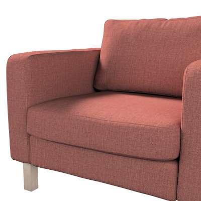 Pokrowiec na fotel Karlstad, krótki w kolekcji City, tkanina: 704-84
