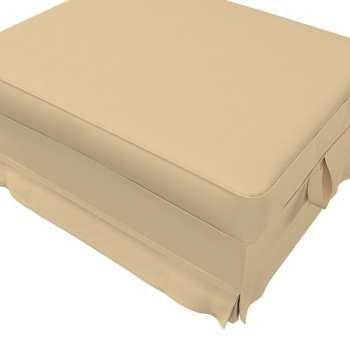 Pokrowiec na podnóżek Ektorp Bromma w kolekcji Cotton Panama, tkanina: 702-01