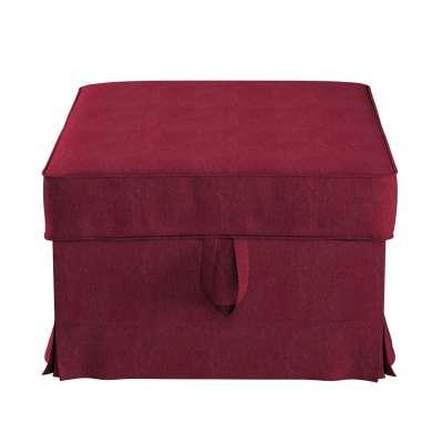 Pokrowiec na podnóżek Ektorp Bromma w kolekcji Chenille, tkanina: 702-19