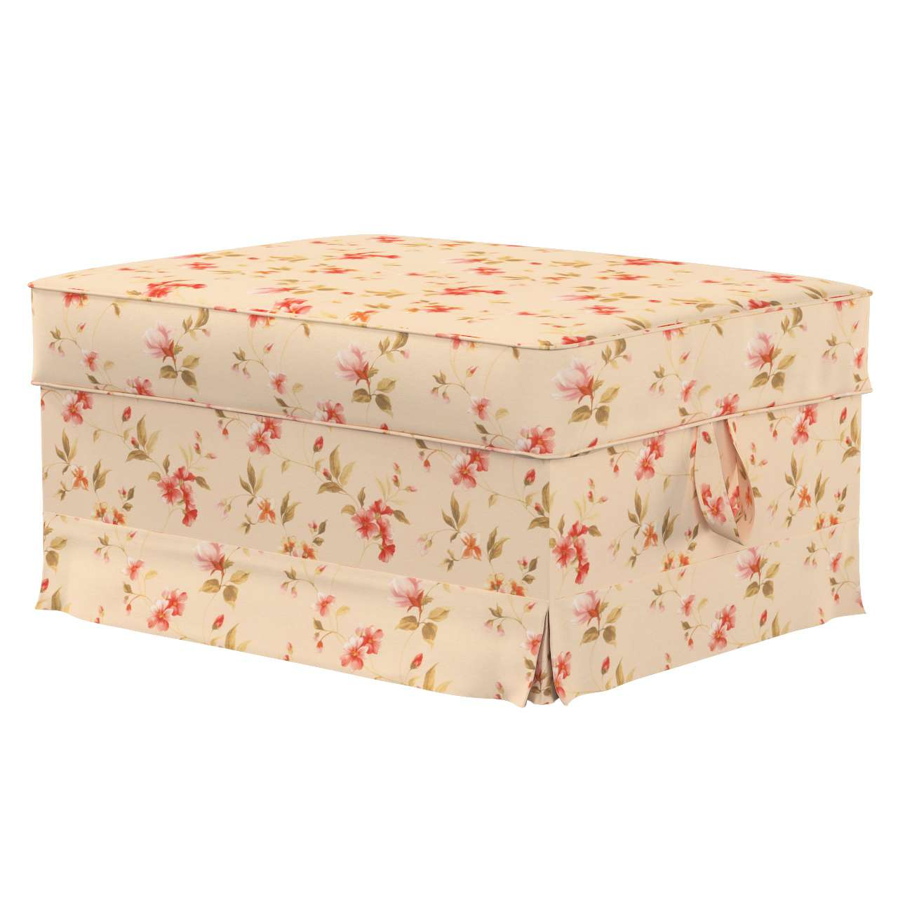 Ektorp Bromma footstool cover Ektorp Bromma footstool cover in collection Londres, fabric: 124-05