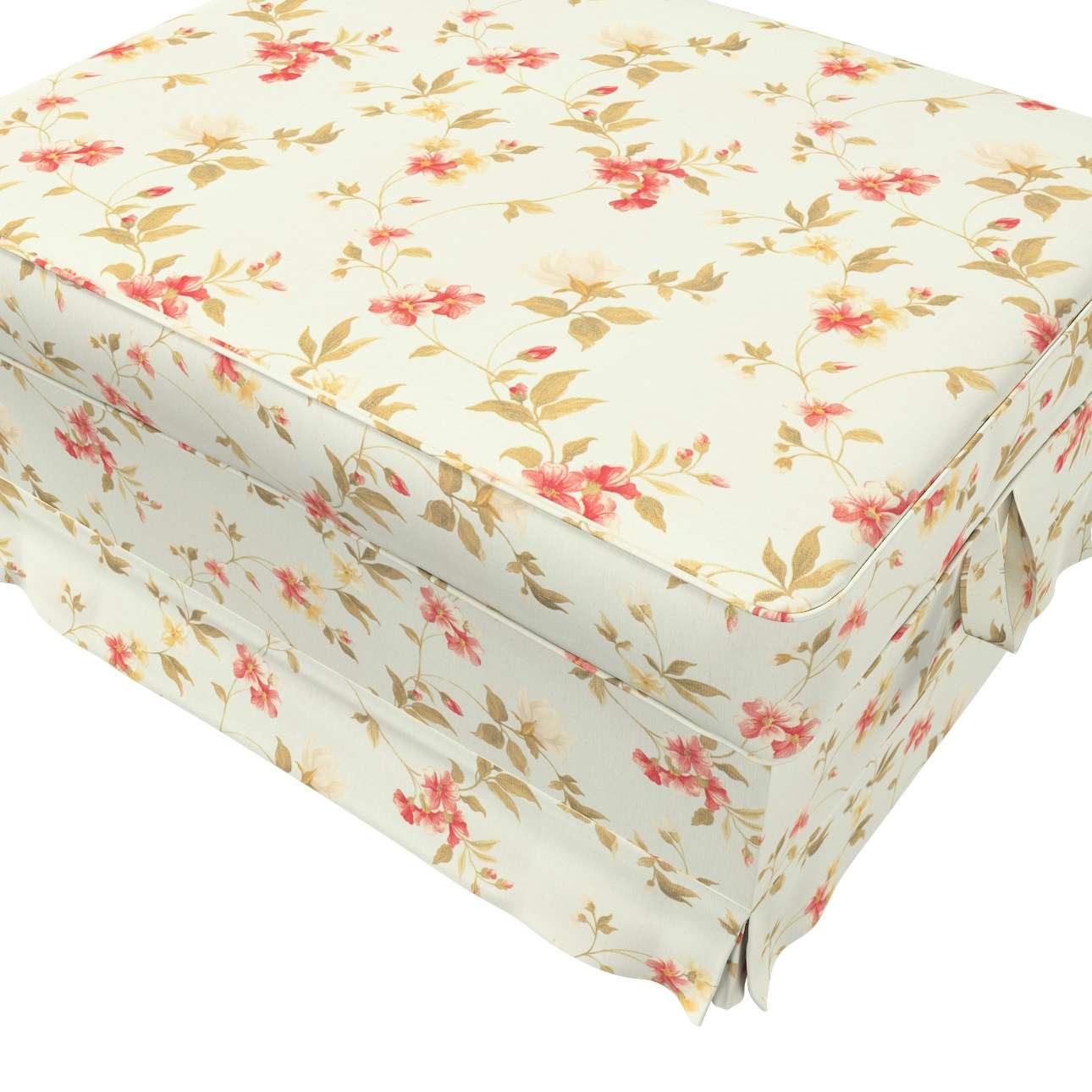 Pokrowiec na podnóżek Ektorp Bromma w kolekcji Londres, tkanina: 124-65