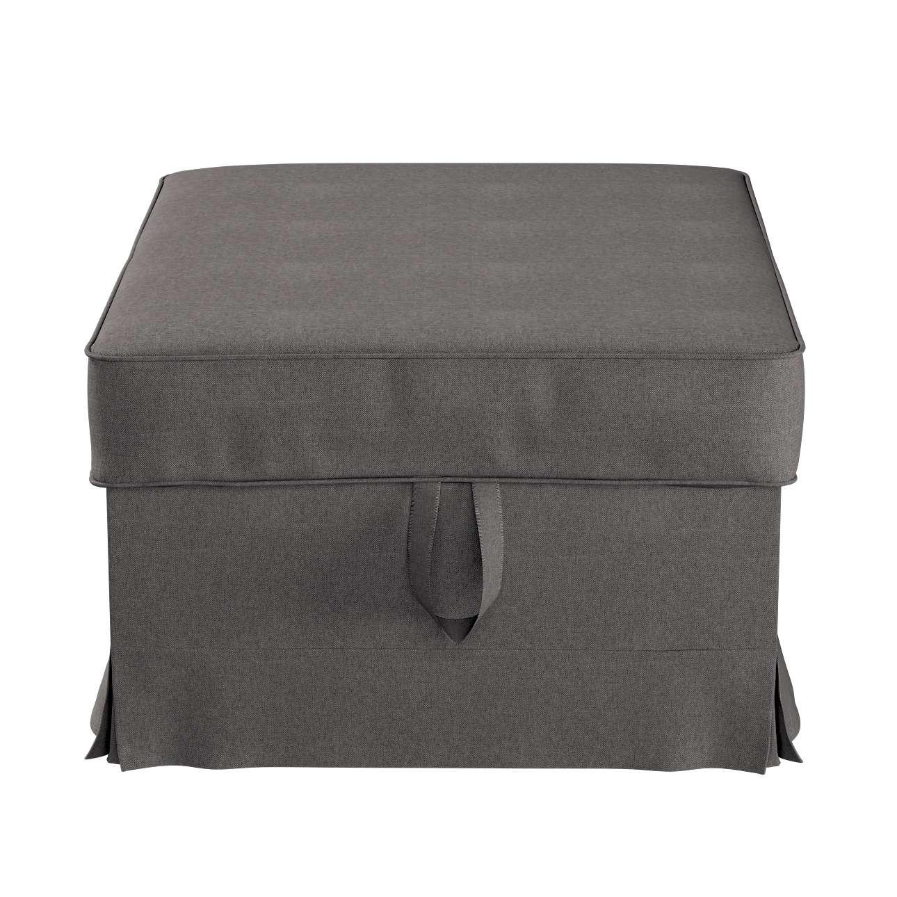 Pokrowiec na podnóżek Ektorp Bromma w kolekcji Etna, tkanina: 705-35