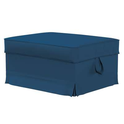 EKTORP kojų kėdutės užvalkalas 702-30 tamsiai mėlyna Kolekcija Cotton Panama