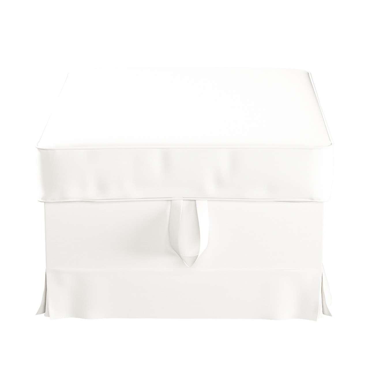 Pokrowiec na podnóżek Ektorp Bromma w kolekcji Cotton Panama, tkanina: 702-34