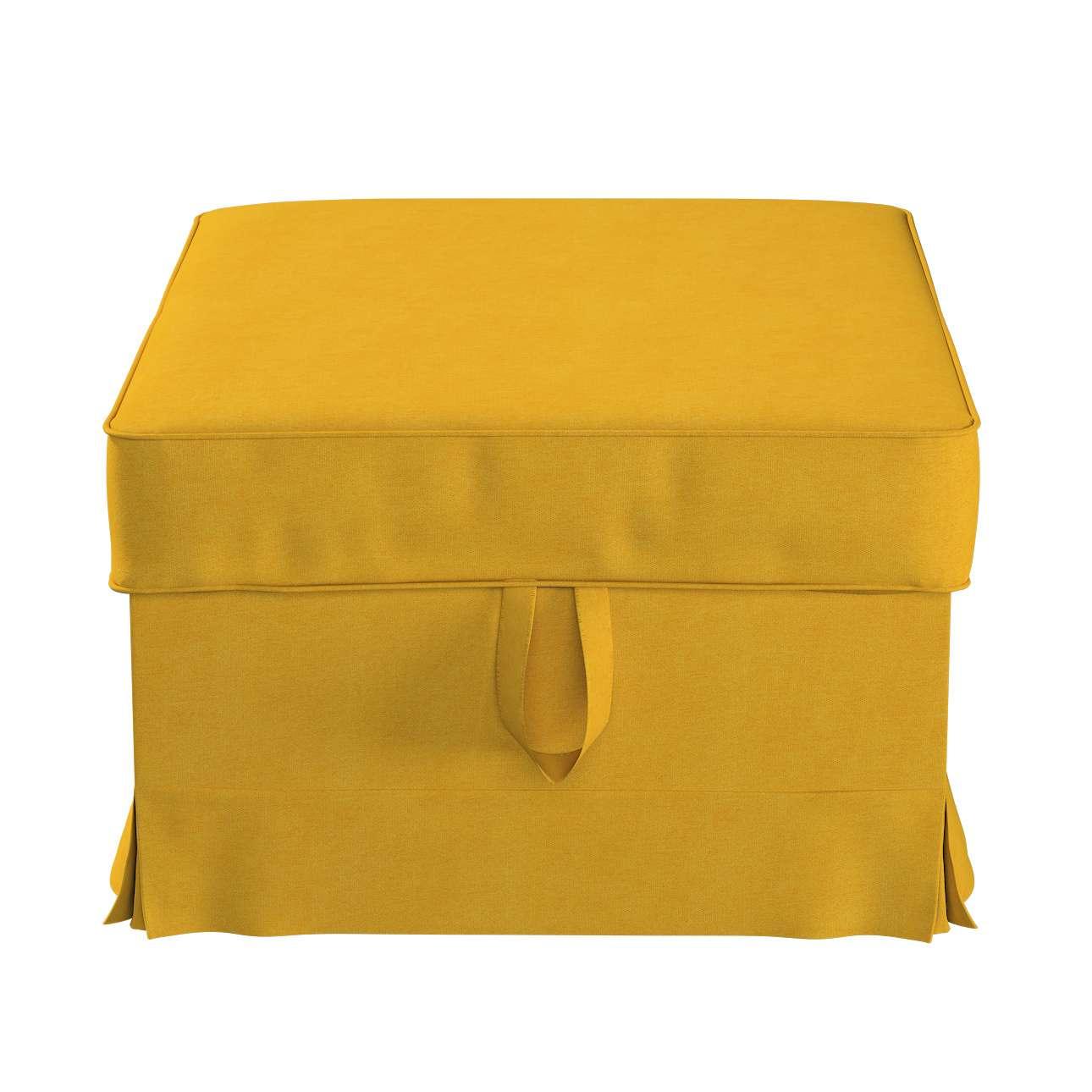 Pokrowiec na podnóżek Ektorp Bromma w kolekcji Etna, tkanina: 705-04