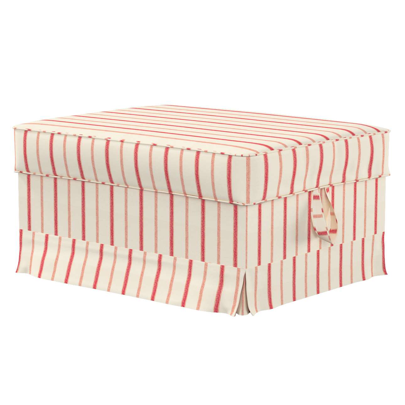 Ektorp Bromma footstool cover Ektorp Bromma footstool cover in collection Avinon, fabric: 129-15