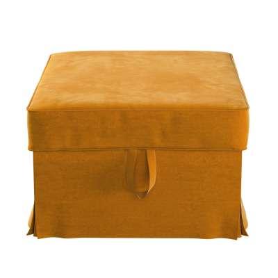 Pokrowiec na podnóżek Ektorp Bromma w kolekcji Velvet, tkanina: 704-23