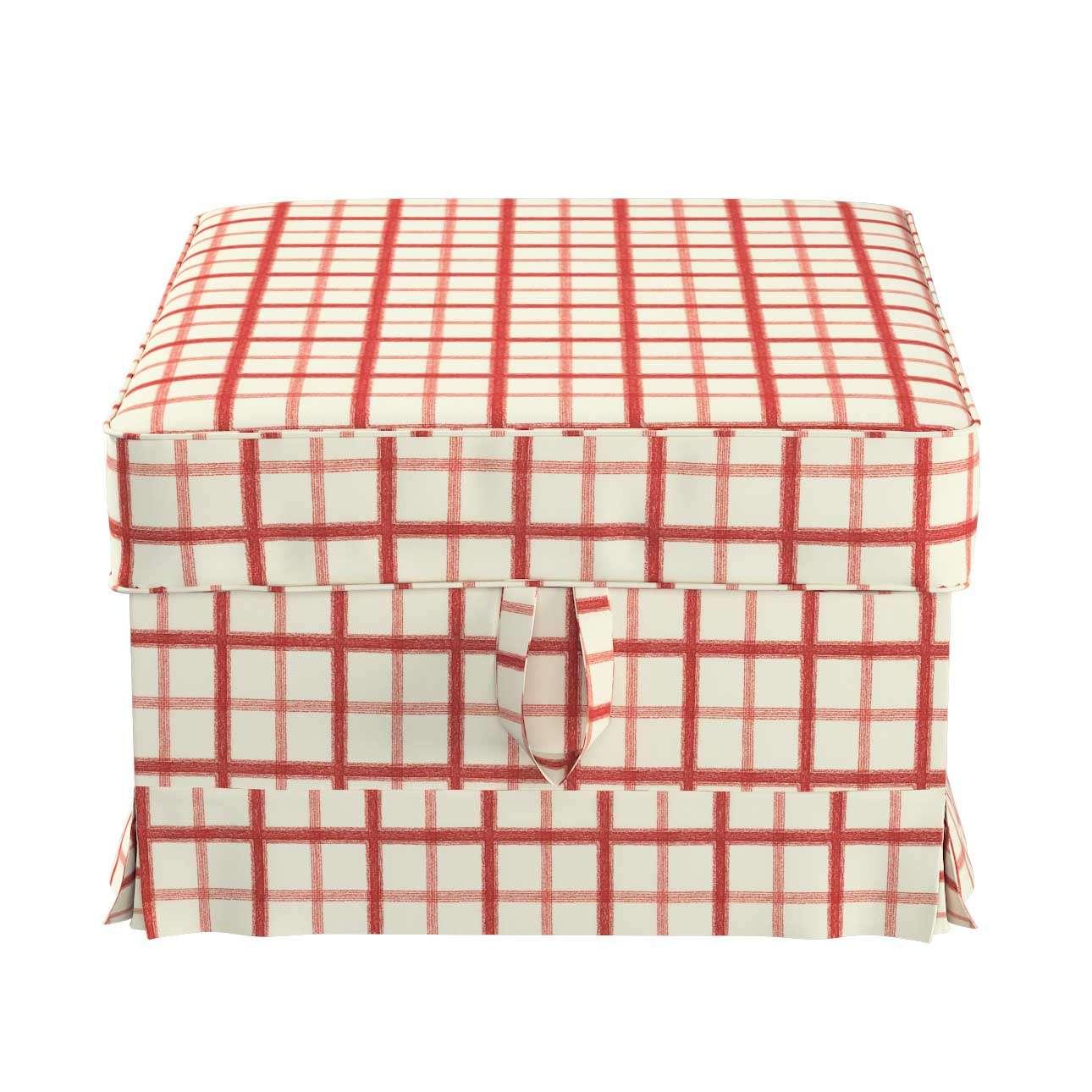 Pokrowiec na podnóżek Ektorp Bromma w kolekcji Avinon, tkanina: 131-15