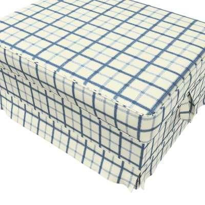 Pokrowiec na podnóżek Ektorp Bromma w kolekcji Avinon, tkanina: 131-66