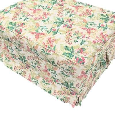 Pokrowiec na podnóżek Ektorp Bromma w kolekcji Londres, tkanina: 143-41