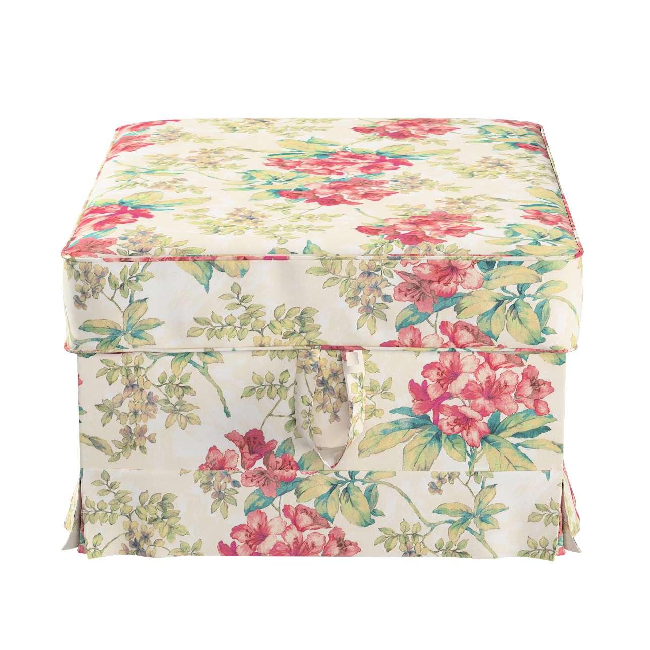 Pokrowiec na podnóżek Ektorp Bromma w kolekcji Londres, tkanina: 143-40