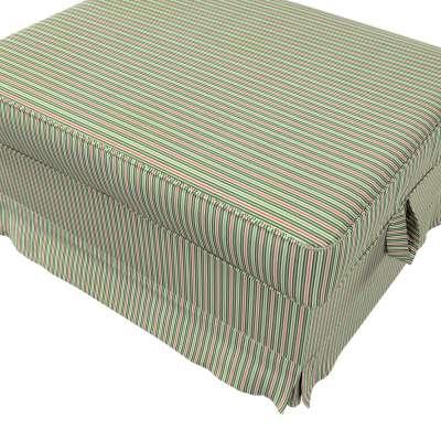 Pokrowiec na podnóżek Ektorp Bromma w kolekcji Londres, tkanina: 143-42