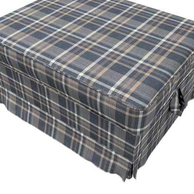 Pokrowiec na podnóżek Ektorp Bromma w kolekcji Edinburgh, tkanina: 703-16